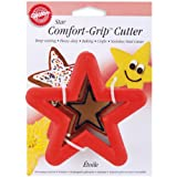 wilton cookie cutters christmas - Wilton Comfort Grip Star Cutter