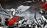 HiddenSupplies.com Afro Samurai Playmat