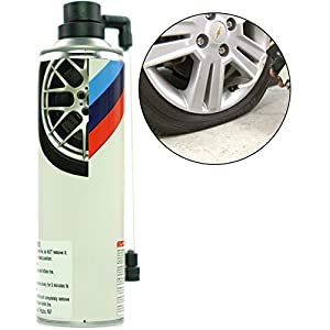 Jecr Aerosol Tire Inflator - Quick Spair Fix a Flat Tire Sealant - Emergency Puncture Sealer Kit for Cars and Trucks - Designed for High Performance and Luxury Vehicles - by Speedy Flat