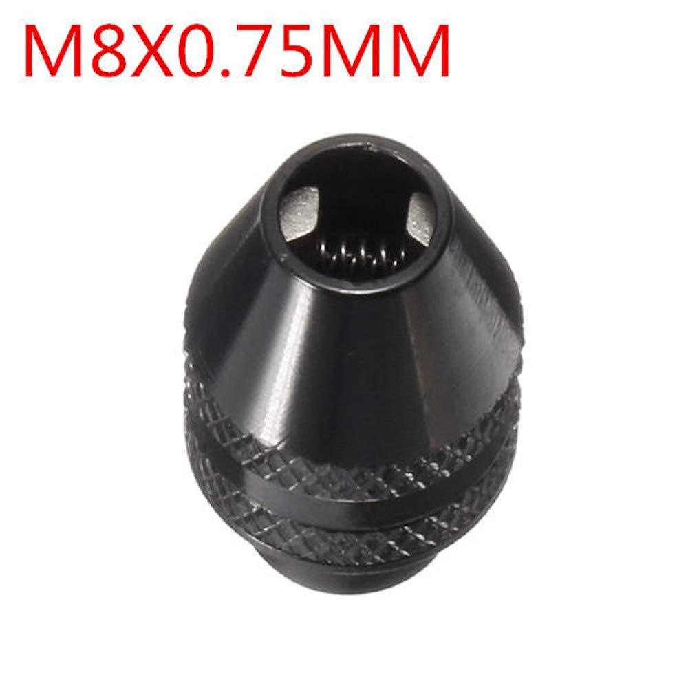0,4-3,2 mm Mandrino per trapano elettrico senza chiave mini pinza per trapano rotante Doolland