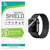 [6-PACK] RinoGear for Apple Watch Screen Protector 38mm...