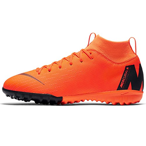 Nike Jr Superflyx 6 Academy GS TF, Zapatillas de Deporte Unisex Niños Multicolor (Total Orange/Blackt 810)