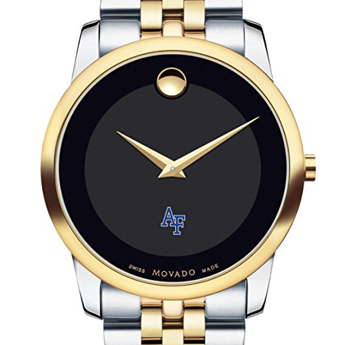 Air-Force-Academy-Mens-Movado-Two-Tone-Museum-Classic-Bracelet