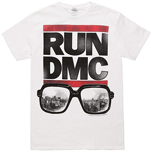 Run DMC - Glasses Logo T-Shirt Size - Glasses Dmc