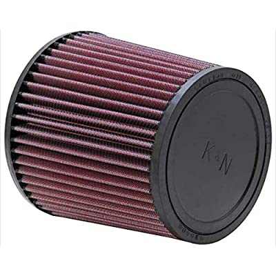 K&N Universal Clamp-On Air Filter: High Performance, Premium, Washable, Replacement Filter: Flange Diameter: 4.5 In, Filter Height: 6 In, Flange Length: 0.625 In, Shape: Round Tapered, RU-3480: Automotive
