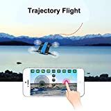 Dreamyth 2.4G 6-Axis Altitude Hold HD Camera WIFI FPV RC Quadcopter Drone Selfie Foldable (Black)