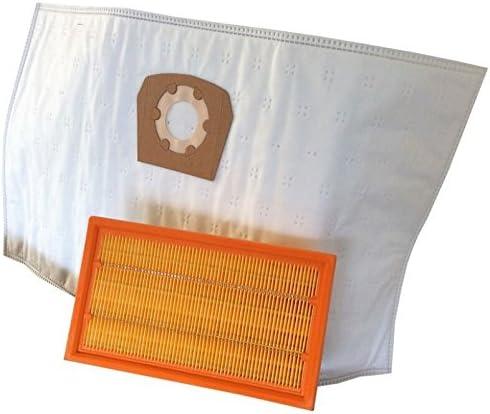 10 bolsas para aspiradora + Filtro para Würth/Würth MASTER ISS 35 ...