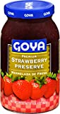 Goya Foods Premium Preserve, Strawberry, 17 Ounce (Pack of 12)