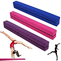 GOTOTOP Gymnastiekbalk, inklapbaar, 222 cm, evenwichtsbalk voor gymzalen en training