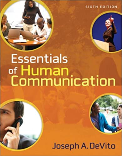 Amazon essentials of human communication 6th edition essentials of human communication 6th edition 6th edition fandeluxe Choice Image