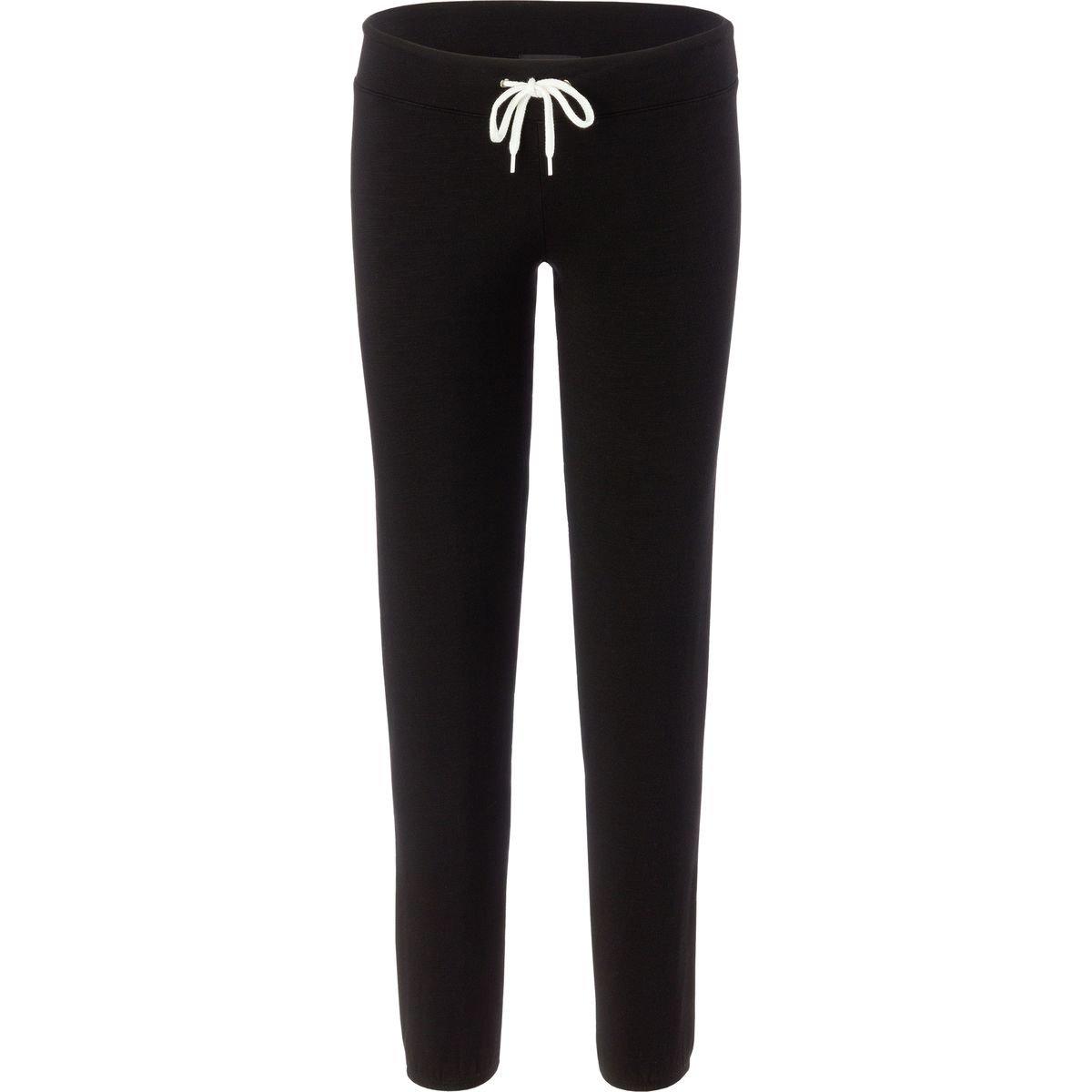Monrow Women's Supersoft Sweats, Black, S