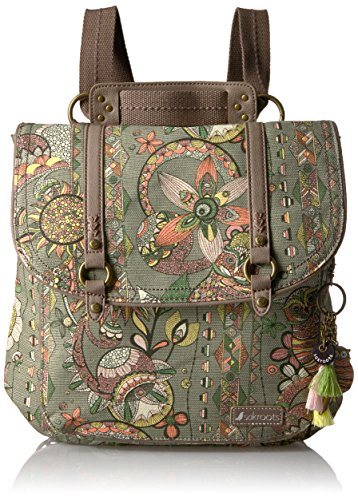 sakroots-womens-artist-circle-convertible-backpack-olive-sd