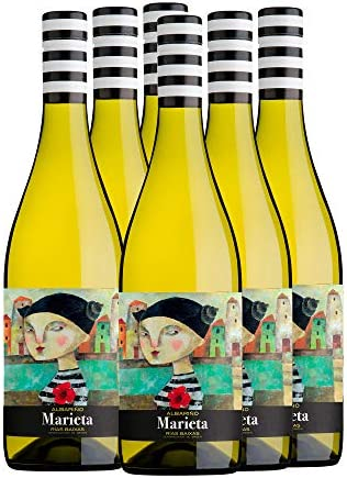 Marieta Vino blanco albariño D.O. Rías Baixas - 6 x 750 ml