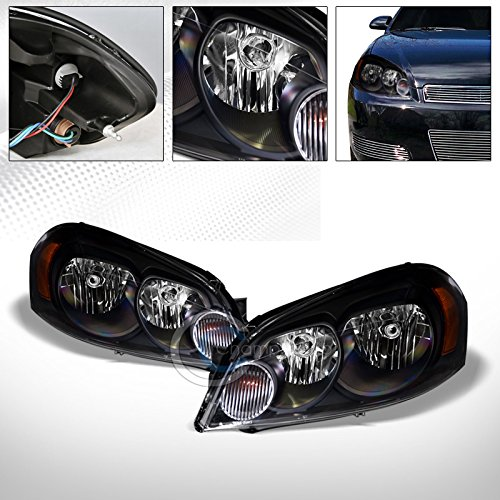 tory Crystal Head Lights Signal Lamp AM DY for 2006-2016 Chevy Impala/Monte Carlo ()