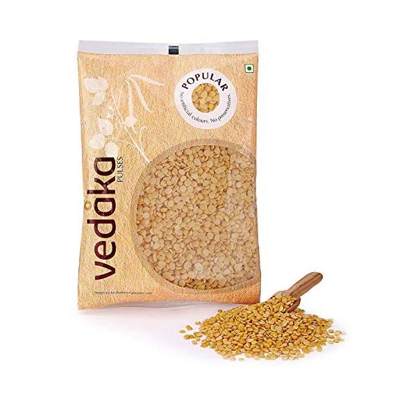 Amazon Brand - Vedaka Popular Toor Dal, 1kg