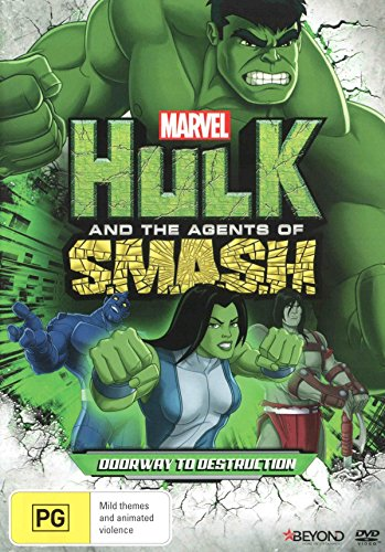 Marvel Hulk and the Agents of SMASH Doorway to Destruction | NON-USA Format | PAL | Region 4 Import - Australia