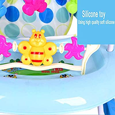 MUYU Plegable Andador Bebés con Rueda giratoria de 360 Grados 4 ...