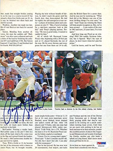 Signed Payne Stewart Photo - 8x10 Page - PSA/DNA Certified - Autographed Golf Photos