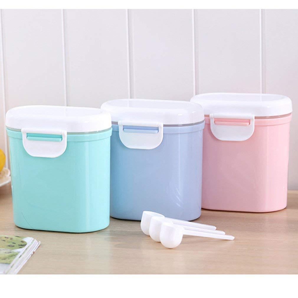 AOKOULV Tragbare Outdoor-Gro/ßraum-Baby Kleinkind-Milchpulver versiegelt Aufbewahrungsbox Tank Organizer Container erhalten Box