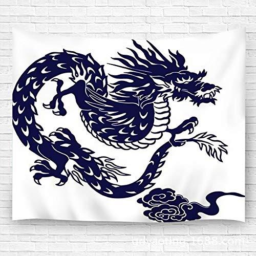 YILINGER Tapestry Japanese Dragon Wall Hanging for Bedroom Living Room Dorm 39.4