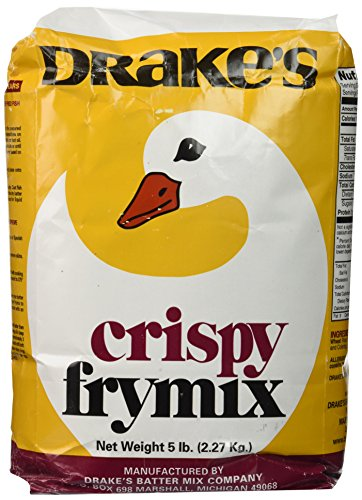 Drake's Crispy Frymix 5lb Bag (Best Chicken Batter For Deep Frying)