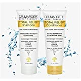 Psoriasis Shampoo & Zinc Pyrithione Conditioner 2 Piece Set - Dermatologist Formulated - Stop Hair Loss + Promote Hair Growth - Treat Psoriasis hydrocortisone Shampoo Extra Gentle Works 3X Better