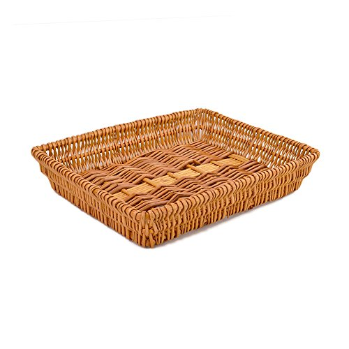 Rurality Rectangular Wicker Storage Basket for Home, Shops or Markets by Rurality (Image #3)