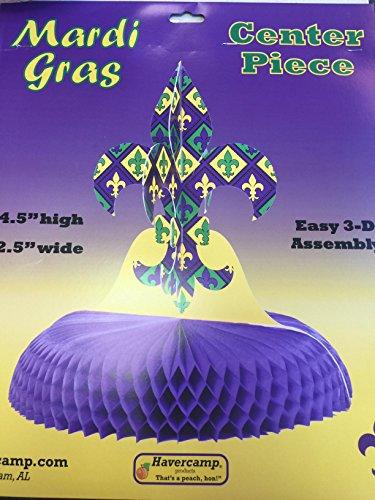 Havercamp Mardis Gras Centerpiece (13