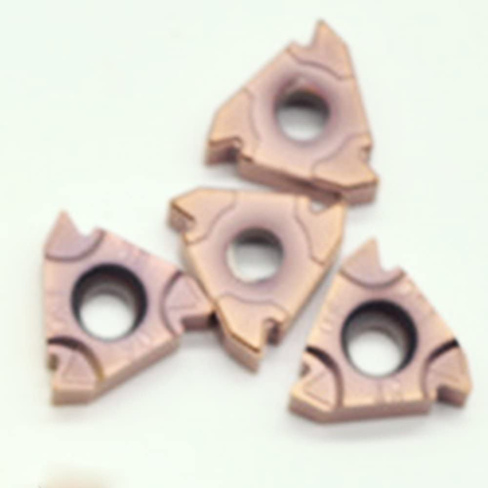 10PCS 16 ERM 3.0ISO LF6018 threading carbide insert milling cutter,cutting inserts,for processing stainless steel cast iron steel