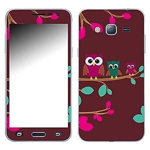 "Motivos Disagu Design Skin para Samsung Galaxy J3 (2016) Duos: ""Drei Eulen"""