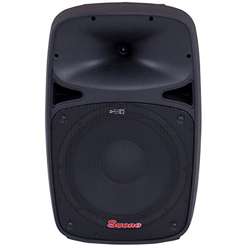 Suono Powered Speaker, 2-Way Portable Professional DJ PA Speaker with Remote Control (15'' 1000W) by Suono
