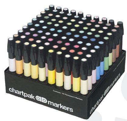Chartpak AD Marker 100 Set by Chartpak