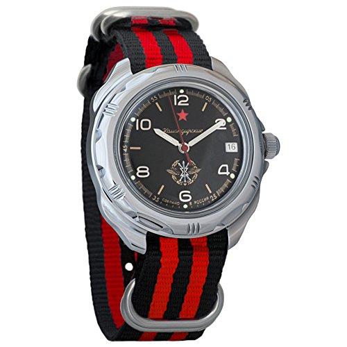 Vostok Komandirskie Russian Signal Corps Army Mechanical Mens Military Commander Wrist Watch #211296 (Russian Wrist Mechanical Watches)