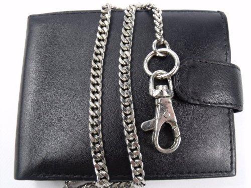 Portafoglio per uomo con catena pelle emporio alta qualità