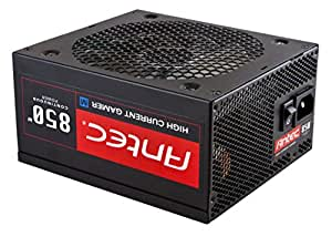 Antec HCG-850M 850W ATX Negro unidad de - Fuente de alimentación (850 W, 100-240, 10%, 50-60, 12V1,+12V2,+3.3V,+5V,+5Vsb,12V, Activo)