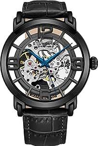 Stuhrling Original Winchester 165B2.335569 - Reloj para Hombre Color Transparente/Negro