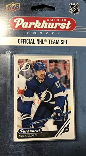 Tampa Bay Lightning 2018 2019 Upper Deck PARKHURST Series Factory Sealed Team Set including Victor Hedman, Steven Stamkos and Nikita Kucherov Plus 7 Others ()