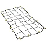 """Cartman Cargo Net with 16 Durable Nylon Hooks - Large 36"""" x 60""""- Stretches to 60"""" x 90"""""""