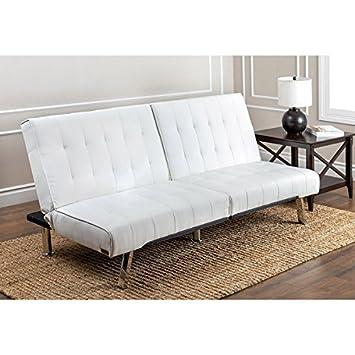 Superb Amazon Com Abbyson Living Jackson Ivory Leather Foldable Ibusinesslaw Wood Chair Design Ideas Ibusinesslaworg