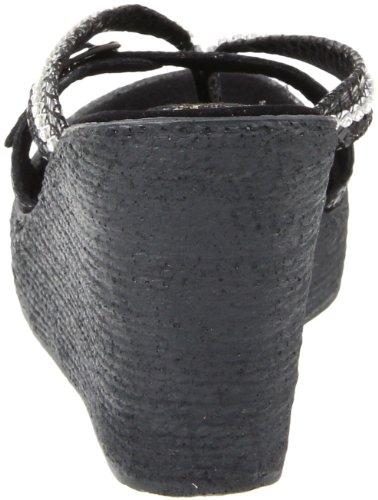 Sbicca Vrouwen Horizon Slang Wigsandelhout Zwarte Slang
