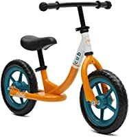 Critical Cycles 2406 Cub No-Pedal Balance Bicicleta for Kids, Orange and Teal 12