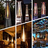 4-Sided Pyramid Flame Heater Parts