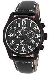 Rotary GS90201-19 Mens Les Originales Black Chronograph Watch