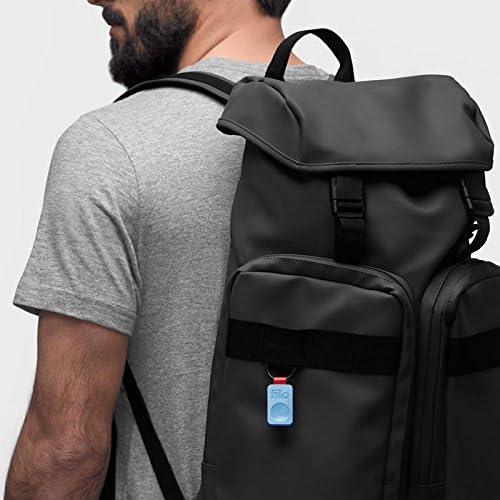 Tama/ños: 25 x 41 x 5 mm Localizador de Objetos Nueva Serie 2019 Pack de 1, Azul FiloTag Tracker Bluetooth Made in Italy
