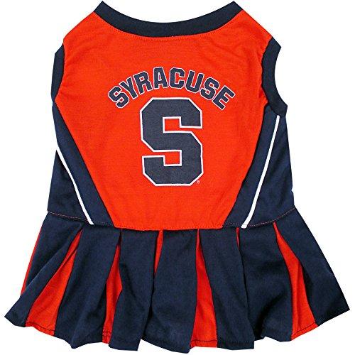 (NCAA Syracuse Orange Dog Cheerleader Outfit, Medium)