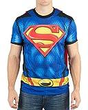 Best Superman Man Tees - Superman- Sublimated Cape Tee T-Shirt Size XL Review