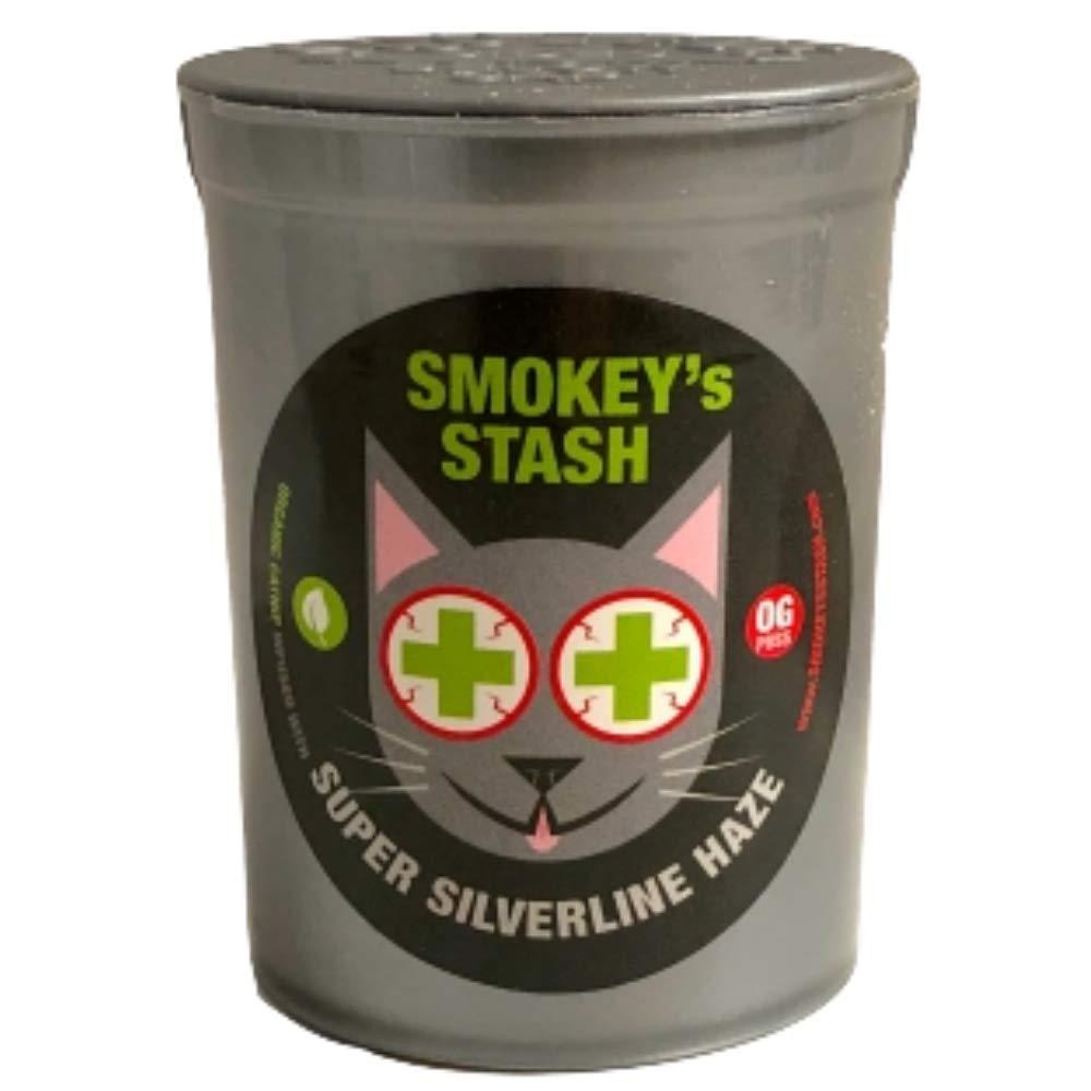 Smokey's Stash Silvervine Haze Potent Catnip and Silver Vine Blend for Cats