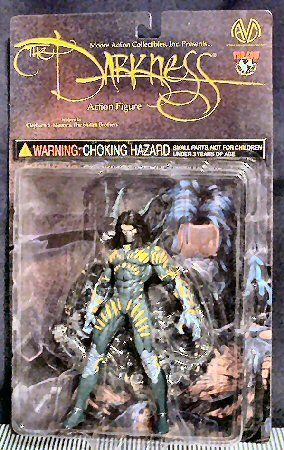 Top Cow Comics Darkness Action Figure (Darkness Toy)