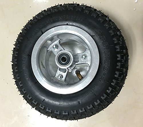 9 Inch Wheelchair Wheel 226mm Scooter Inflation Wheel With Inner Tube Electric Skateboard 9
