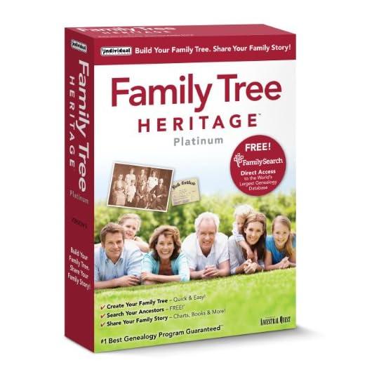 Individual Software Family Tree Heritage Platinum 9